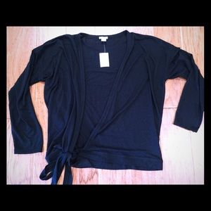 J. Crew Tops - NWT J. Crew wrap top
